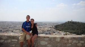 Josh & Katie in Greece