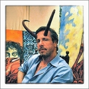 Clive Barker with Horns