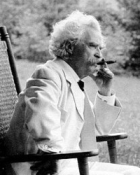Mark Twain...that nasty cigar