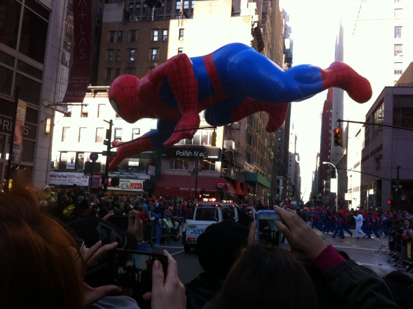 Spiderman Macy's Parade 2012